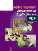 Working Together - Approaches to Family Literacy - Summary