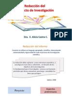 Redacción Del Proyecto de Investigación. Alicia 19.2.15