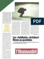 L'Humanité 10 mars 2010