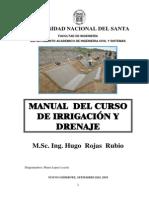 Manual Del Curso de Irrigacion - HUGO ROJAS RUBIO (1)