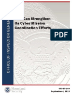 OIG-15-140-Improved Coordination Needed to Meet Cyber Threats Sep15