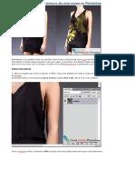 Como Trocar a Textura de Uma Roupa No Photoshop