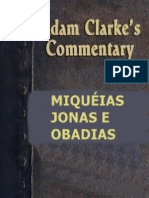 Comentário Bíblico - Adam Clarke - Miquéias, Jonas e Obadias