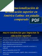 Contexto Global y Nacional de La Educación Superior