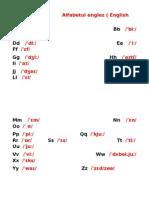 alfabetul englez