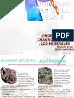 Libro de Reconocimiento de Minerales La Salle Bogota Laboratorio 3 de Quimica