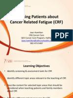 cano webinar cancer related fatigue1