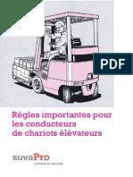 Règles Importantes Pour Les Conducteurs de Chariots Élévateurspar (Www.promqse.esy.Es)