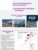 Aménagement des quartiers Rabat