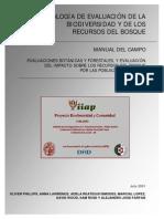 Manual estudios forestales