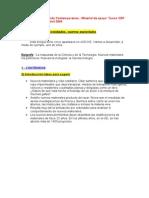Tema Nuevos Materiales y Nanotecnologia