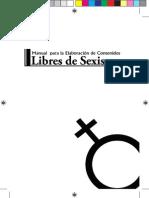 Manual Para La Elaboración de Contenidos Libres de Sexismo