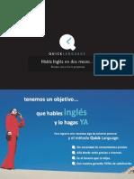 Dossier Quick Language 2 Meses