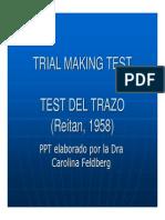 Trail Making Test