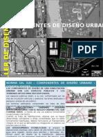 Componentes de Diseño Urbano