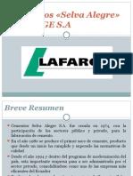 Cementos Lafarge «Selva Alegre» S