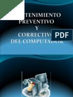 Documento de Apoyo No. 1.1 Mantenimiento Preventivo y Correctivo Del Computador