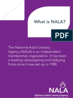 NALA Information Leaflet - What is NALA