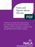 NALA Information Leaflet - Facts and Figures About Literacy