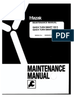 Maintenance Manual Quick Turn Smart 100 S 150 S X and Z Servo Battery Replacement