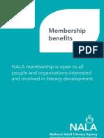 NALA Information Leaflet - Membership Benefits