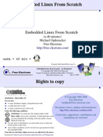 Embedded Linux from scratch