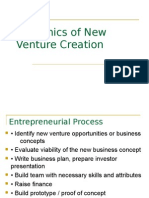 New Venture Creation-Final