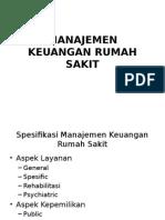 Manajemen Keuangan Rumah Sakit