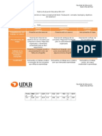 Rubrica Evaluación Educativa EDU 507