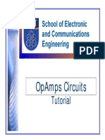 Tutorial OpAmps