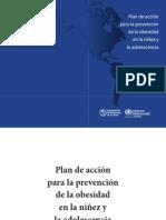 Plan de acción para la prevención de la obesidad en la niñez y la adolescencia