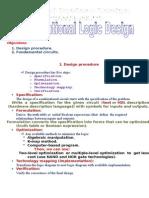 Lecture 11 Combinational Logic Design