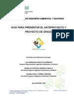 Guia Para Presentar Anteproyectos o Proyectos_ingenieria Ambiental y Sanitaria