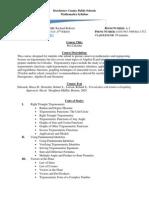 syllabus pre-calculus 2015-2016