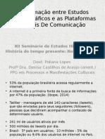 Aproximações entre estudos historiográficos e redes sociais digitais