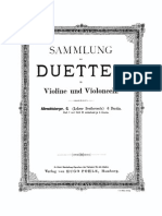 Albrechtsberger 6 Duos Complete Violin and Cello