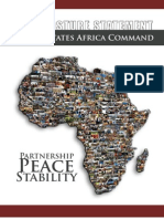 2010 U.S.Africa Command Posture Statement