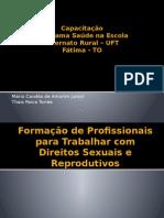 Capacitação Direitos Sexuais e DST.