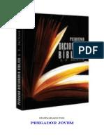 S. E. McNair - Pequeno Dicionário Bíblico