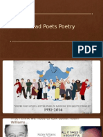 dead poets poetry