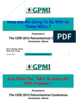 Goobie Presentation CERI 2015 Petrochemical Conference