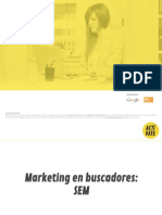 Marketing en Buscadores. SEM