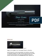 Door Gems Brochure