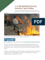 British Jihadis in Bangladesh Fanning Flames of Extremism, Says Dhaka