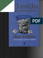 Alex Grijelmo (El Reportaje Informativo)