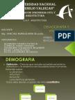 Demografía y Vivienda