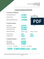 Mathcad - Tracción y Compresión en HSS