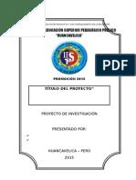 Esquema - Proyecto de Investigacion Accion Educativa