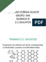 2.1 Silicatos
