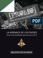 Juan Pina La Amenaza de Los Dioses Promo